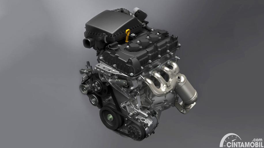 mesin Suzuki Jimny terbaru berwarna hitam