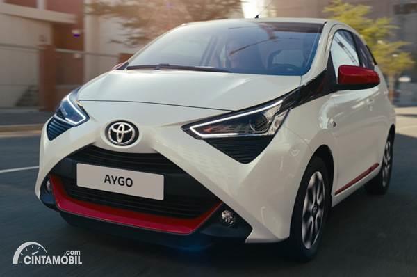 Toyota Aygo dijual