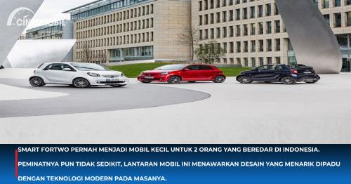 Mobil Kecil untuk 2 Orang Ini Pernah Eksis di Indonesia
