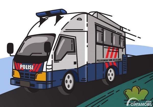 Ini Dia Lokasi Pelayanan SIM Keliling Jakarta Hari Ini, 9 September 2020
