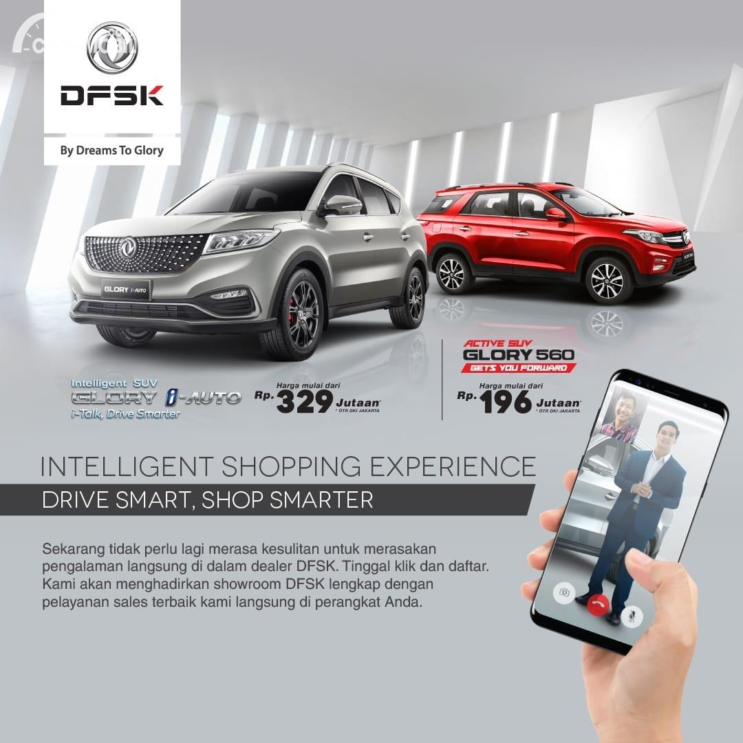 Gambar Intelligent Shopping Experience DFSK