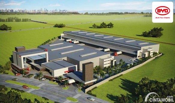 BYD Dirikan Pabrik Baterai Kendaraan Listrik di Brasil