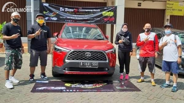 Test Drive Toyota Corolla Cross