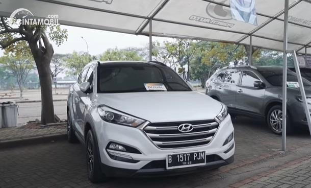 Gambar menunjukan mobil Hyundai