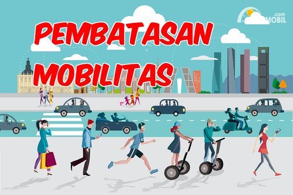 Aturan Mobilitas Warga Selama PSBB Jakarta