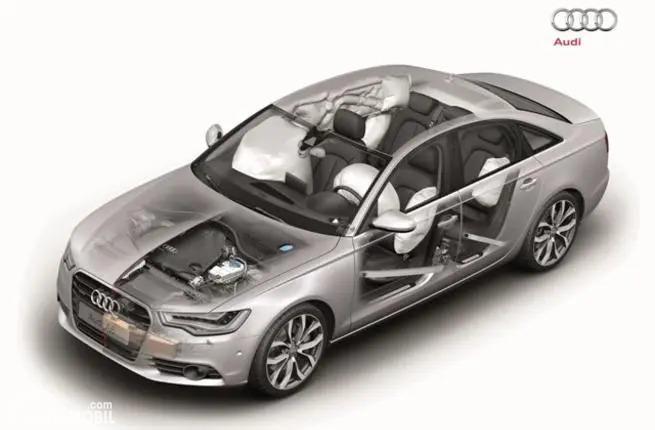 Gambar struktur sasis All New Audi A6