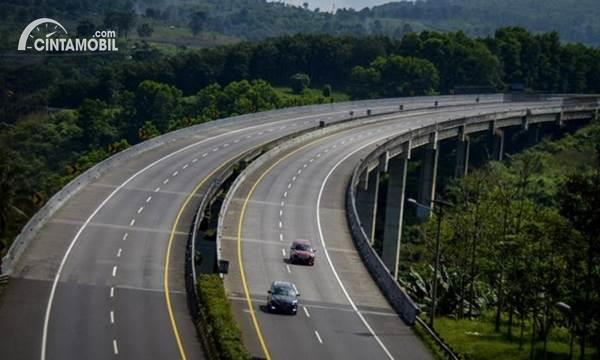 Jembatan di Tol Cipularang