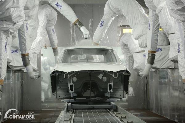 Gambar menunjukan Pabrik BMW