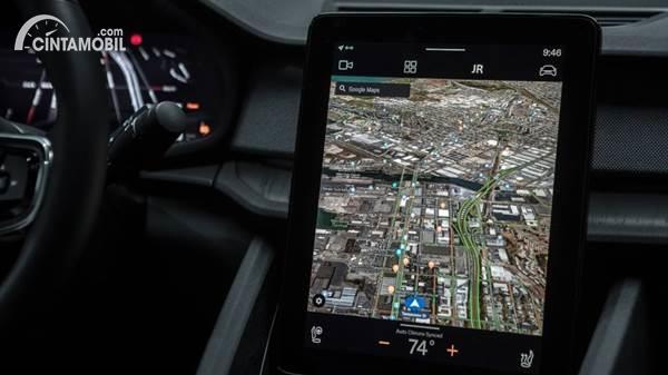 Google Maps 3D interface