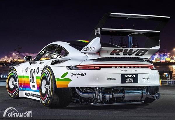 Porsche 911 RWB Apple Computer Rear Wing