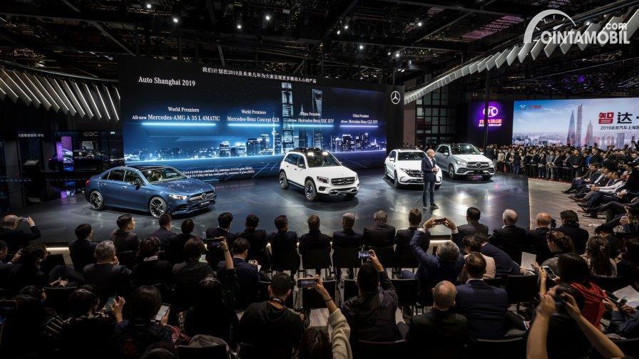 Booth Mercedes-Benz Cars at Auto Shanghai 2019