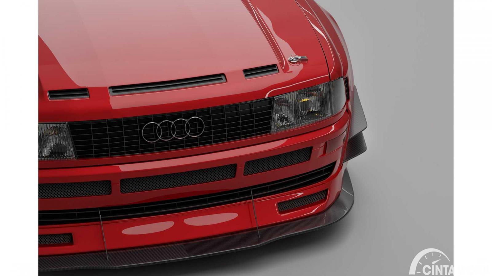 Detail emblem Audi RS2 Coupe