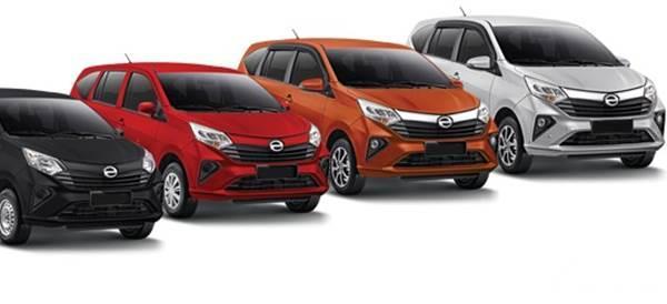 Warna Warna Daihatsu Sigra 2020