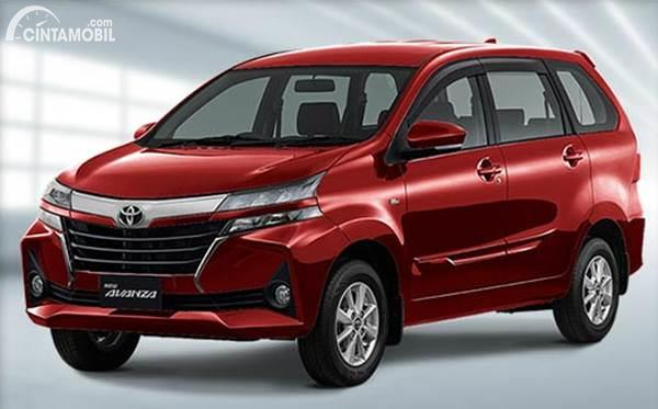 Toyota Avanza terbaru warna merah