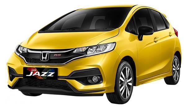 Honda Jazz warna kuning