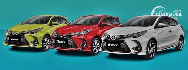 Pilihan Warna Toyota Yaris