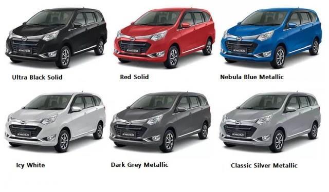 Pilihan Warna Mobil Sigra Terbaik di Indonesia