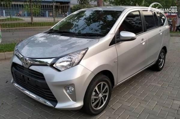 Toyota Calya bekas dijual