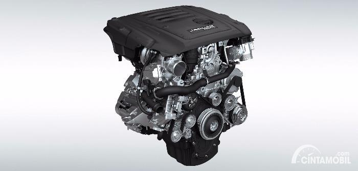 Mesin diesel Jaguar XF 2021
