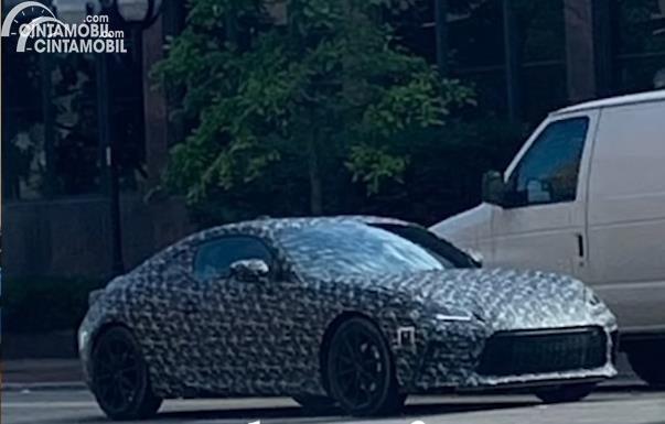 Spyshot Subaru BRZ 2021