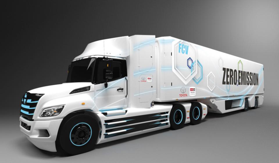 Toyota dan Hino Kembangkan Truk Bertenaga Hidrogen