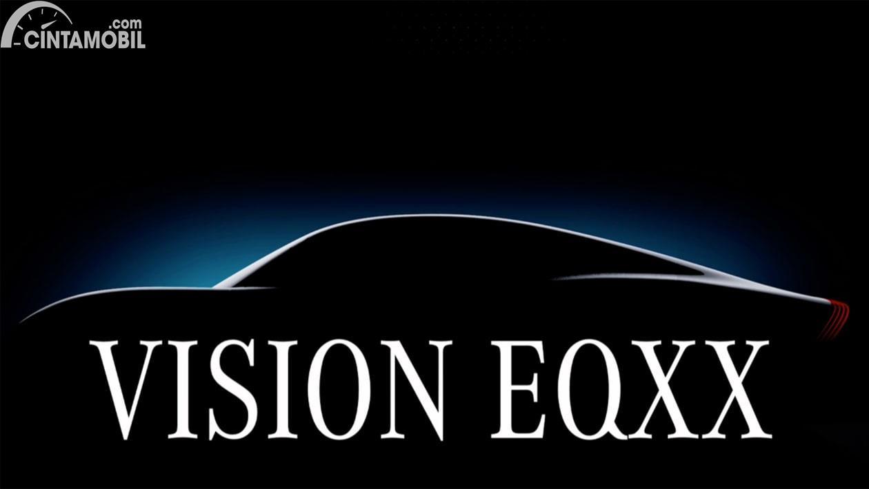 Teaser prototype Mercedes-Vison EQXX