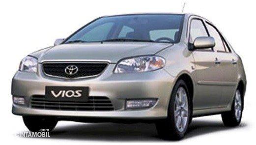 Gambar Toyota Vios XP40