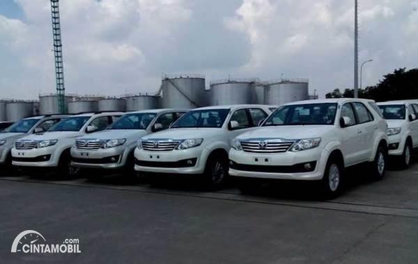 Toyota Fortuner buatan Indonesia