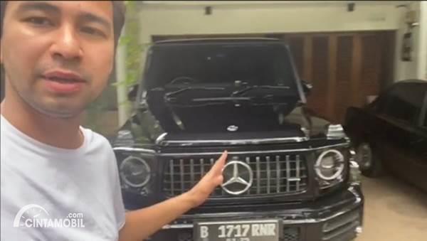 Mobil Raffi Ahmad Mercedes-Benz G63
