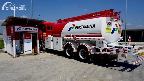 Gambar menunjukan Tangki bahan bakar