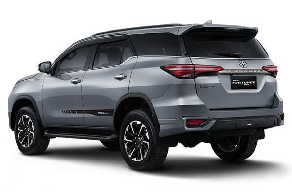 Toyota New Fortuner 2020 back