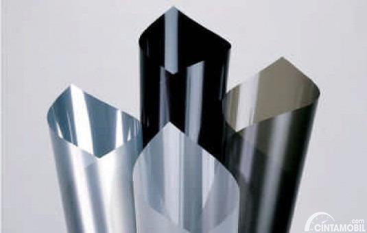 Kaca film bahan Nano metalic