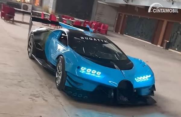 Dikerjakan Sendirian, Replika Bugatti Vision Gran Turismo Ini Mirip Aslinya
