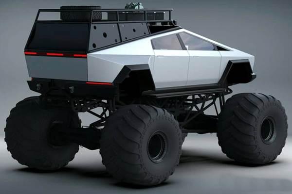 Tesla Cybertruck monster truck