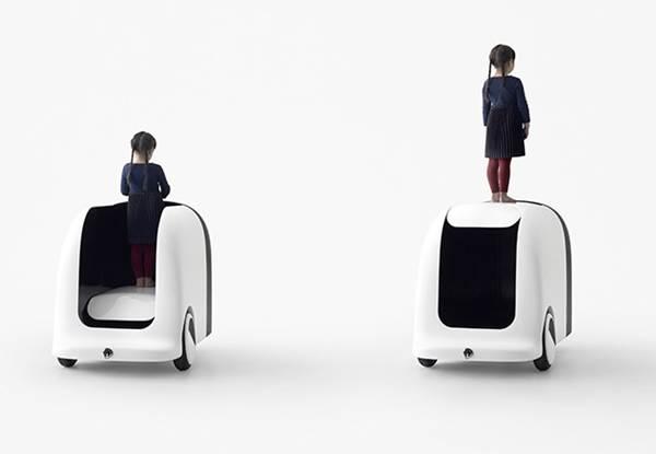 Coen Car, Mobil Otonom untuk Anak-anak dalam 6 Bentuk Unik