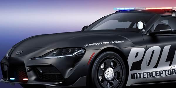 Toyota Supra Police Interceptor rendering front