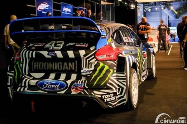 Ford Focus RS RX Ken Block dilelang