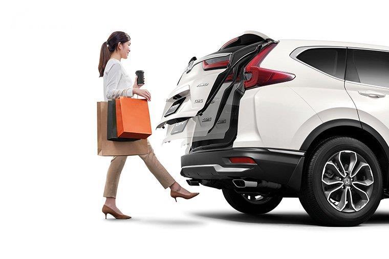 Gambar Hands-Free Power Tailgate di Honda CR-V Facelift