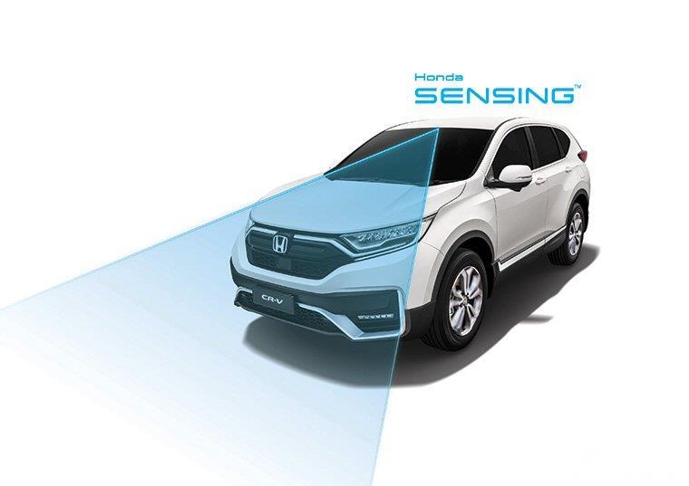 Gambar Honda Sensing di Honda CR-V Facelift