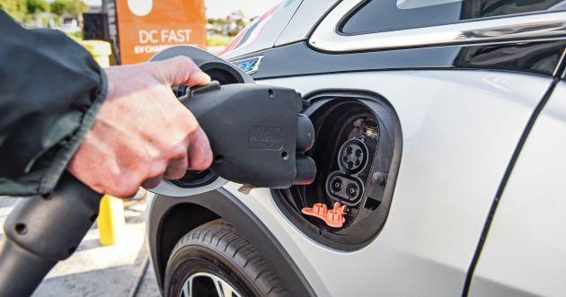 Gambar menunjukan Pengisian daya mobil listrik