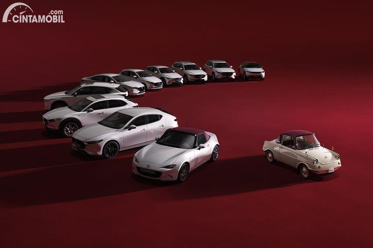 Gambar line up Mazda 100th Anniversary Edition 2020