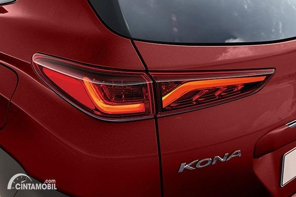 Gambar stoplamp Hyundai KONA Facelift 2020
