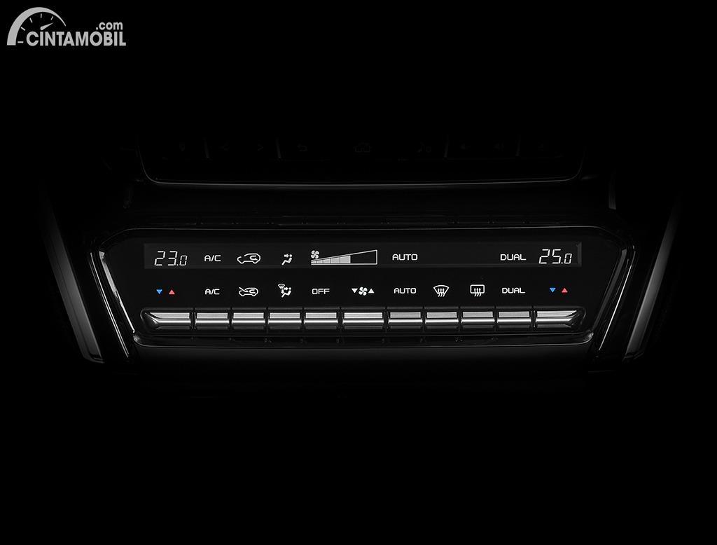 Gambar panel instrumen AC Isuzu All-new MU-X