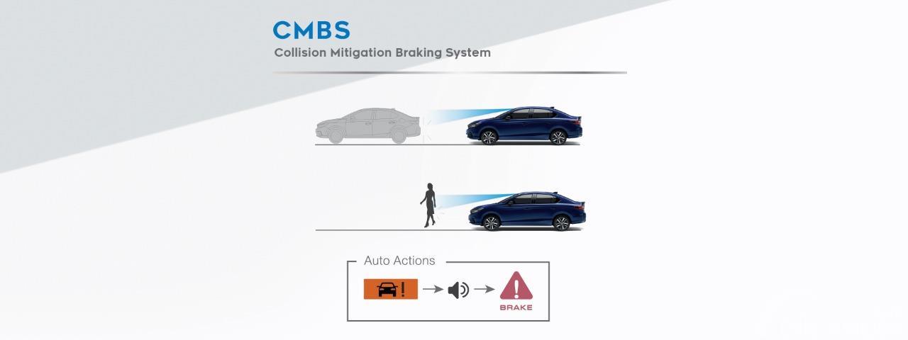 Gambar Collision Mitigation Brake System Honda City Hybrid