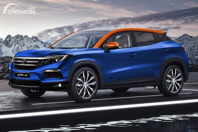 Gambar rekaan Honda ZR-V