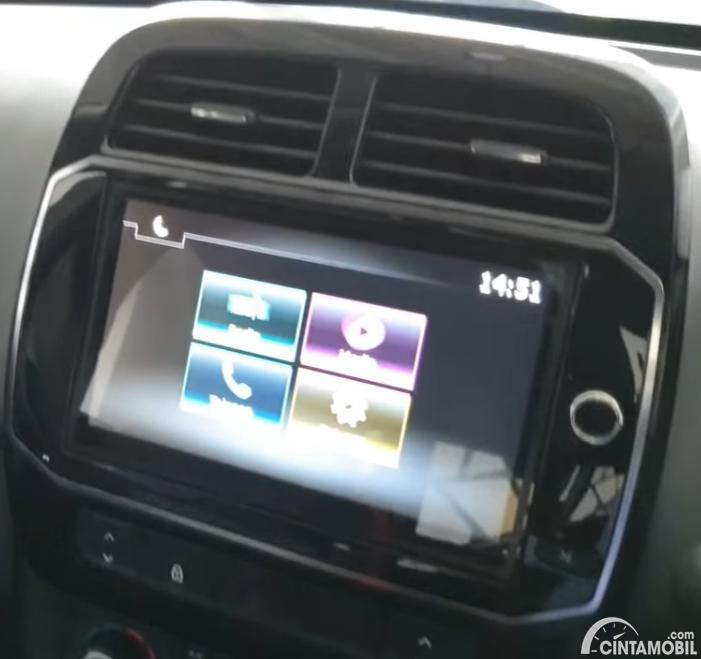 Gambar In-Car Entertaiment System Renault Kwid 2020