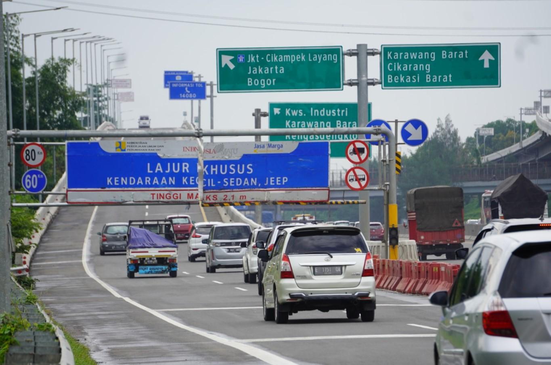 Dua Hari Sebelum Tahun Baru, 272 Ribu Mobil Meninggalkan Jakarta