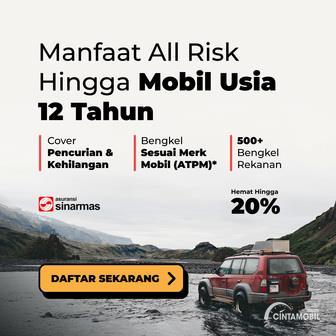 Gambar menunjukkan beberapa pilihan asuransi mobil di Cintamobil.com