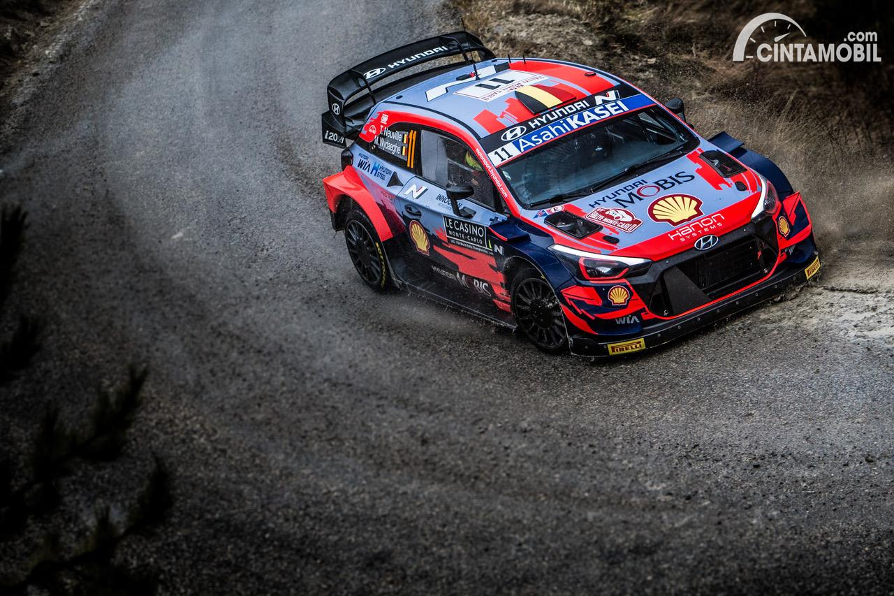 Thierry Neuville WRC Monte Carlo 2021