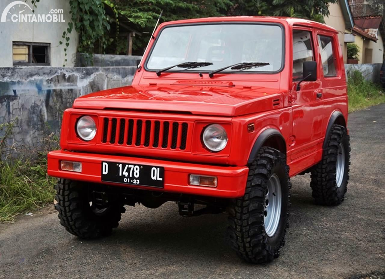 Modifikasi Suzuki Jimny Simple Harian